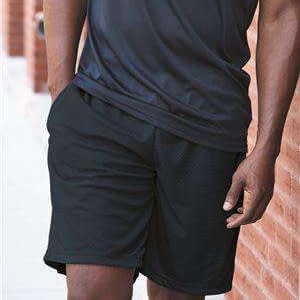 Badger Sport Men's Tricot Mesh Side Pocket Shorts - 7219