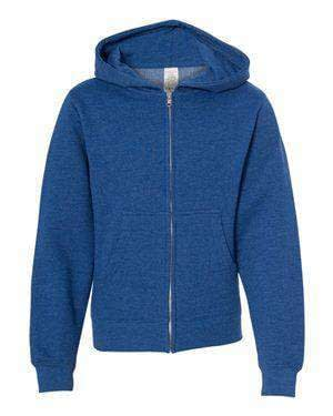 Independent Trading Youth Full-Zip Hoodie Sweatshirt - SS4001YZ