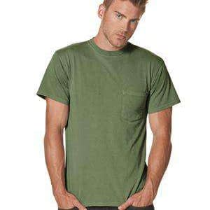 Next Level Men's Inspired Dye Pocket Crew T-Shirt - 7415