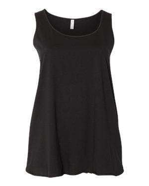 LAT Women's Curvy Collection Tank Top - 3821