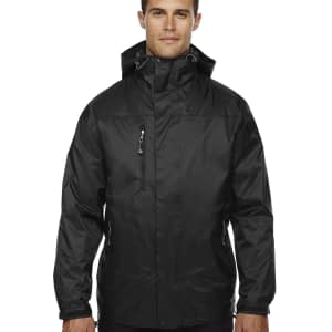 North End Men's Performance 3-in-1 Waterproof Jacket - 88120