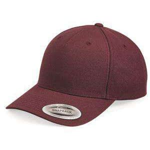 Yupoong Five-Panel Wool Blend Cap - 5789M