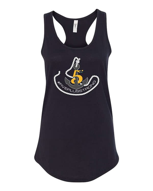 Ladies Crossfit Anchor Racer Tank