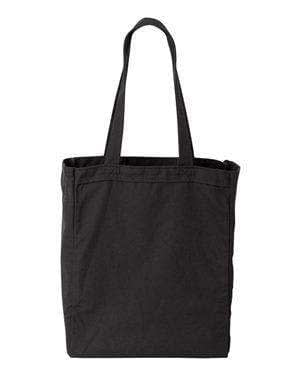 Liberty Bags Susan Gusseted Canvas Tote Bag - 8861