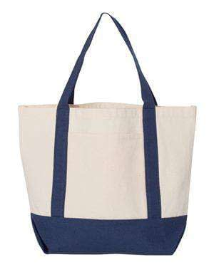 Liberty Bags Small Canvas Boat Tote Bag - 8867