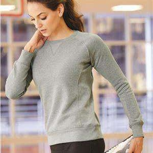Russell Athletic Women's V-Patch Crew Sweatshirt - LF3YHX
