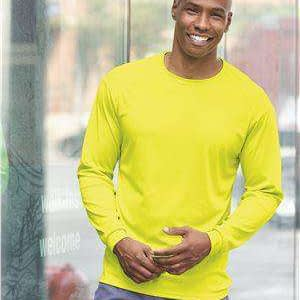 Badger Sport Men's B-Core Long Sleeve T-Shirt - 4104