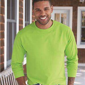 Hanes Men's Tagless® Long Sleeve T-Shirt - 5586