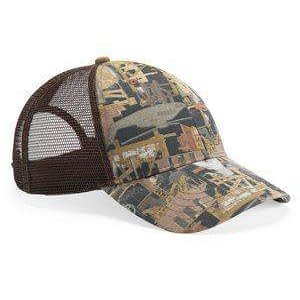 Kati Oil Field Trucker Camouflage Cap - OIL5M