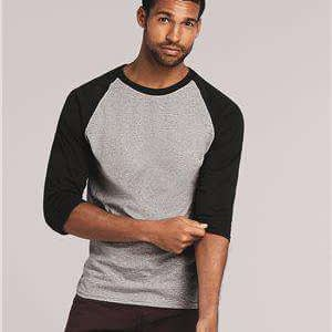 Gildan Men's Heavy Cotton™ Raglan Baseball T-Shirt - 5700