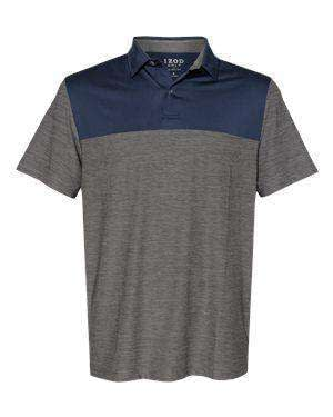 IZOD Men's Colorblocked Space-Dyed Polo Shirt - 13GG004