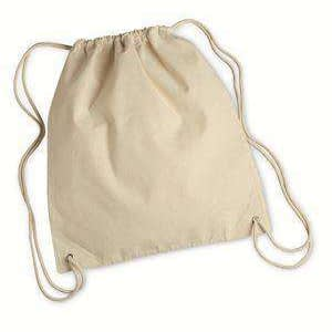 Liberty Bags Drawstring Canvas Cinch Sack - 8875