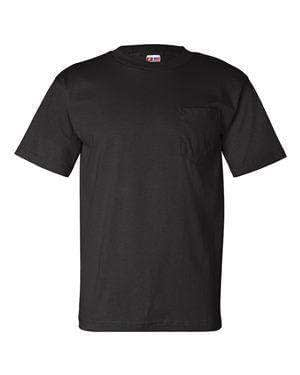 Bayside Men's USA-Made Crew Pocket T-Shirt - 7100
