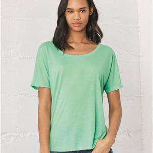 Bella + Canvas Women's Slouchy Scoop Neck T-Shirt - 8816
